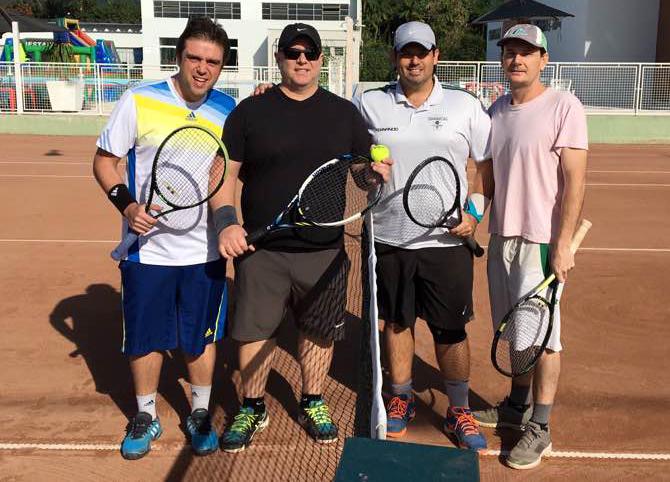 tenis 1 classe campeões
