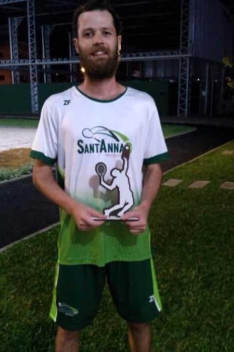 Schmidt foi prata em Rio do Sul